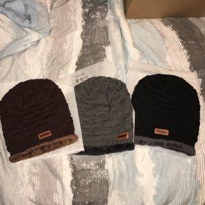 Last One! Unisex Winter Beanie Hat ( BLACK )